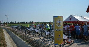 "Inaugurare pista de biciclete ""Regina Maria"" intre Chisineu Cris si Nadab"