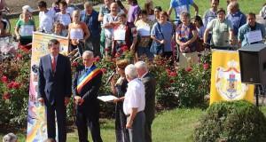 Alteta Sa Regala Principele Radu Duda al Romaniei la inaugurarea pistei de biciclete in Chisineu Cris