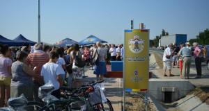 Inaugurare pista de biciclete